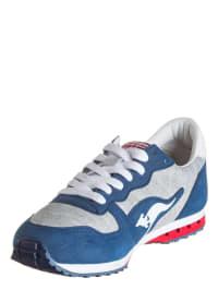 """Kangaroos Sneakers """"Blaze-Jersey"""" in Dunkelblau/ Grau"""