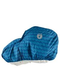 Småfolk Regenschutz für Kinderwagen in Blau/ Hellblau - (B)110 x (H)75 cm