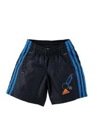 Adidas Trainingsshorts in Anthrazit/ Blau