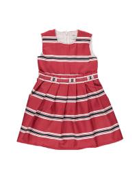 Königsmühle Kleid in Rot/ Dunkelblau/ Weiß
