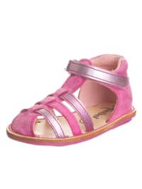 Minibel Leder-Sandalen in Pink/ Lila