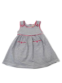 Darcy Brown Kleid in Dunkelblau/ Weiß