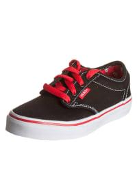 """Vans Sneakers """"Atwood"""" in Schwarz/ Rot"""