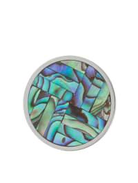 Quoins Münze mit Abalone
