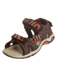 DOCKERS Sandalen in Braun/ Orange