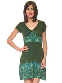 PurpleJam Kleid in Grün