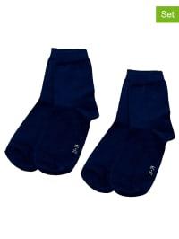 Ewers 4er-Set: Socken in Dunkelblau