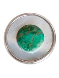 "NOOSA Chunk ""Paracas"" in Silber/ Smaragdgrün"