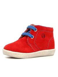 Naturino Leder-Schnürschuhe in Rot