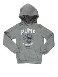 Puma Kapuzenpullover in Grau