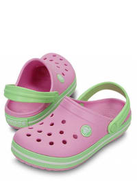 "Crocs Clogs ""Crocband Kids"" in Rosa/ Mint"