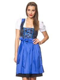 "LEKRA Mini-Dirndl ""Odette"" in Schwarz/ Blau"