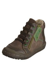 """Minibel Leder-Sneakers """"Jordanlim"""" in Braun/ Taupe"""