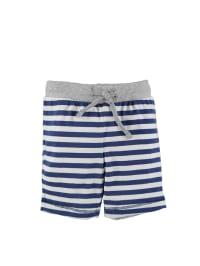 Fiftyseven by sanetta Shorts in Blau/ Creme