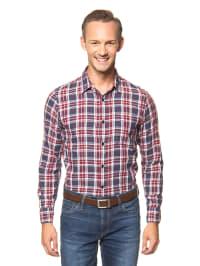 """Jack & Jones Hemd """"Oakley"""" in Blau/ Rot"""