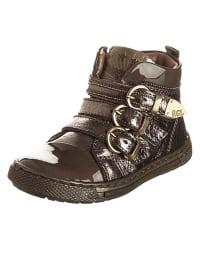 Romagnoli Leder-Sneakers in Bronze