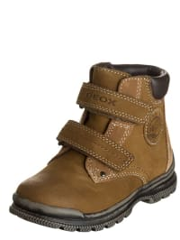 "Geox Leder-Boots ""William A"" in Hellbraun"