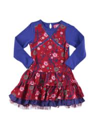 Paglie Kleid in Rot/ Blau
