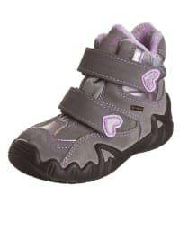 """Primigi Leder-Boots """"Flosy"""" in Grau/ Flieder"""
