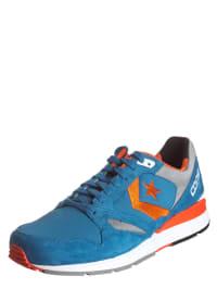 """Converse Sneakers """"Wave Racer OX"""" in Blau/ Orange"""