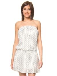 MyMo Kleid in Weiß/ Schwarz