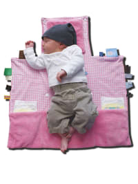 """Snoozebaby Wickelunterlage """"Easy Changing"""" in Rosa - (B)50 x (L)70 cm"""