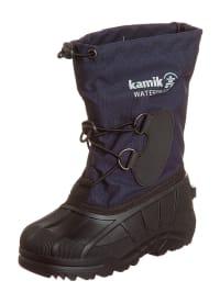 """Kamik Winterstiefel """"Southfros"""" in dunkelblau/ schwarz"""