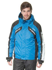 Hyra Ski-/ Snowboardjacke in Tintenblau/ Schwarz
