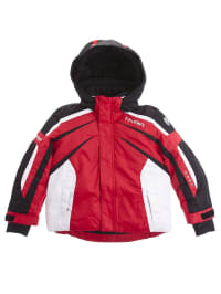Hyra Ski-/ Snowboardjacke in Rot/ Schwarz